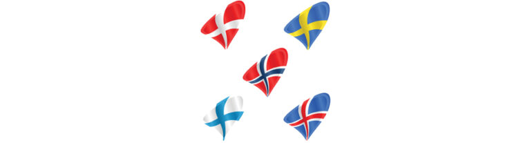 Nordisk samarbejde - flag