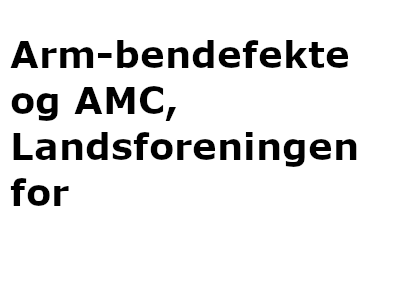 Arm-bendefekte og AMC, Landsforeningen for