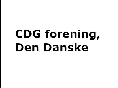 CDG forening, Den Danske