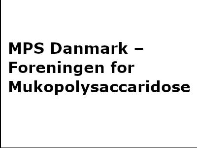 MPS Danmark – Foreningen for Mukopolysaccaridose