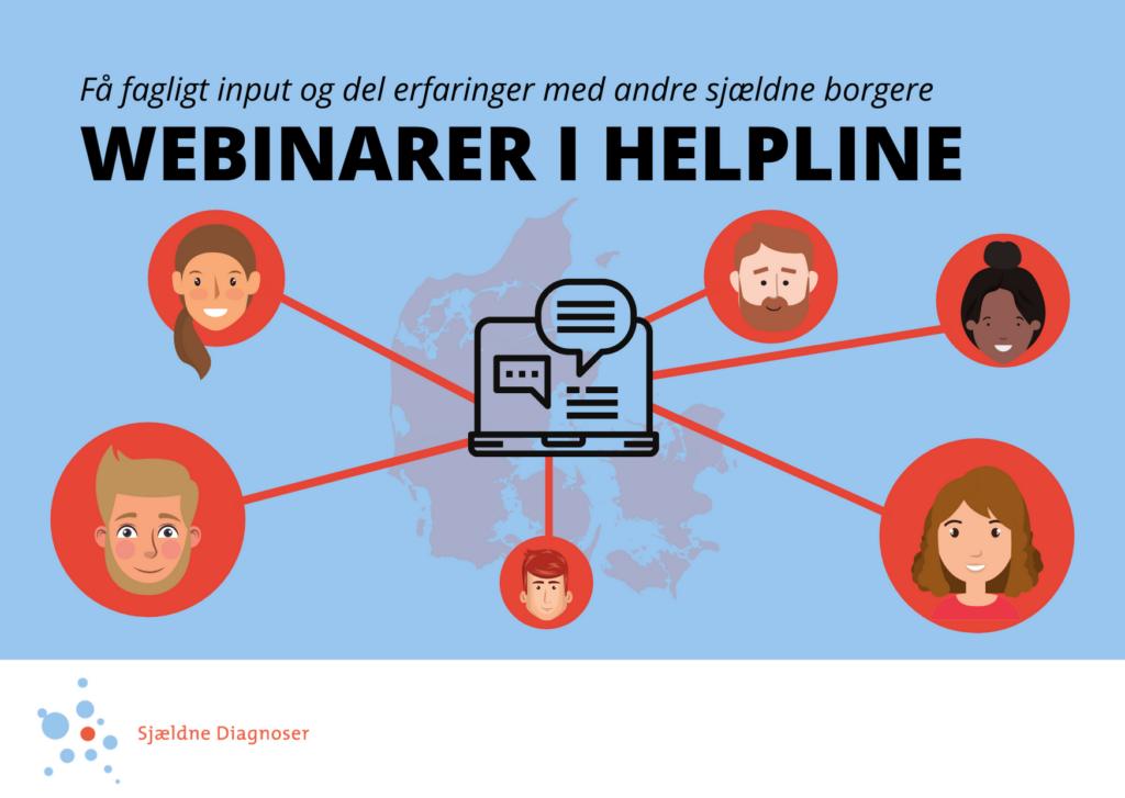 Webinarer i Helpline