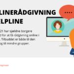 Helpline udvider og tilbyder onlinerådgivning